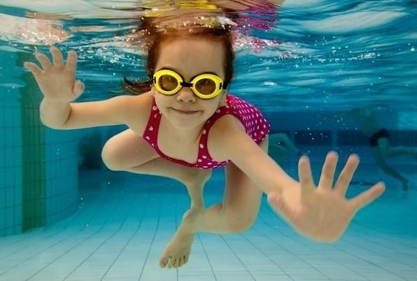 lentes de natación
