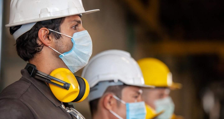 Mascarillas industriales previene riesgos laborales